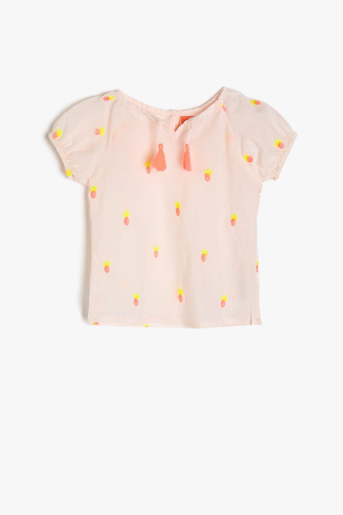 سفارش  بلوز نوزاد دخترانه برند Koton Kids رنگ صورتی ty4629090