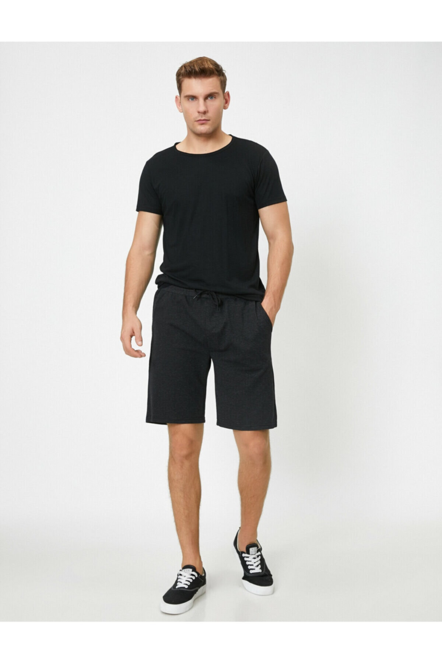 شلوارک مردانه جدید برند کوتون رنگ نقره ای کد ty47161045