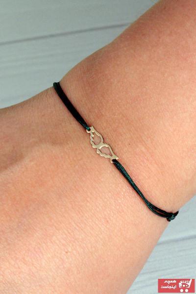 دستبند طلا زنانه ترک برند EJOYA رنگ مشکی کد ty47462398