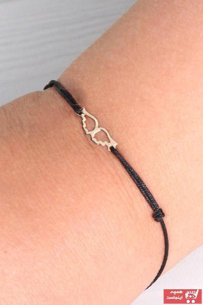 دستبند طلا زنانه فروش برند EJOYA رنگ مشکی کد ty47462812