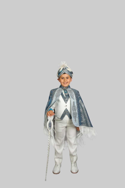 لباس خاص پسرانه ترک جدید برند Sinan çocuk رنگ آبی کد ty48208041