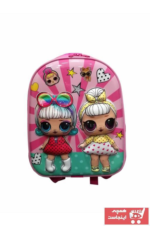 فروش کیف مدرسه بچه گانه دخترانه جدید برند Las Vegas Polo Club رنگ صورتی ty49085637