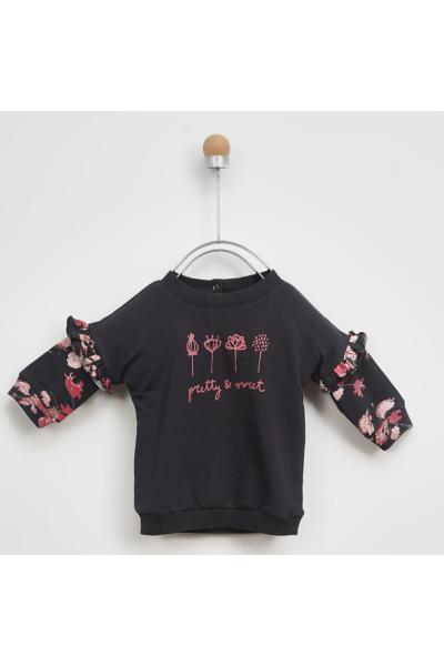 سویشرت جدید برند Panço رنگ مشکی کد ty50450290