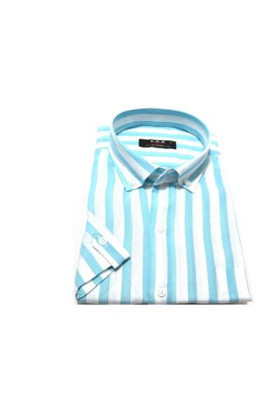 سفارش انلاین پیراهن ساده برند KURULAR RİZE BEZLERİ رنگ فیروزه ای ty51250279