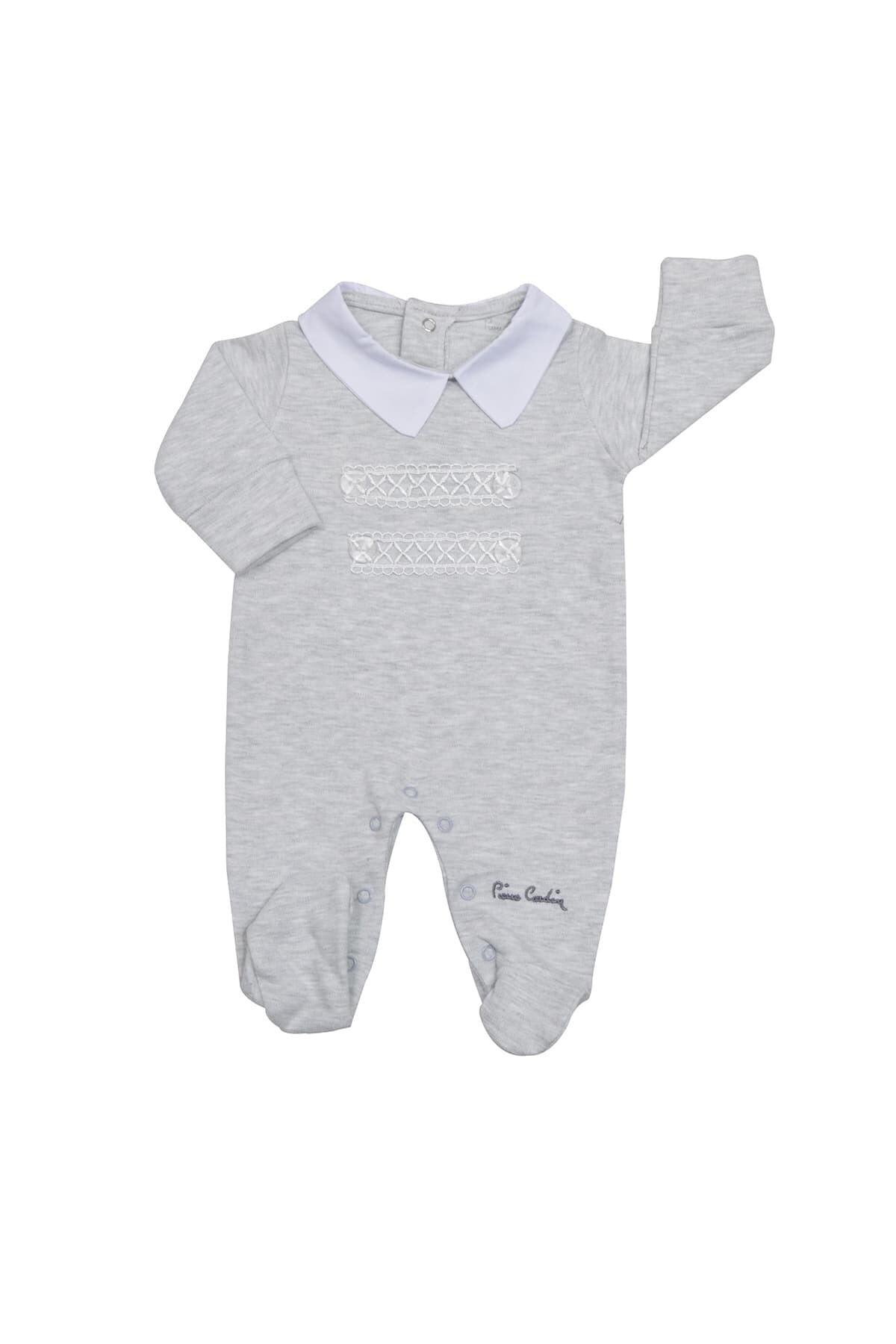 خرید انلاین سرهمی نوزاد پسرانه خاص برند Pierre Cardin Baby رنگ نقره ای کد ty52638641