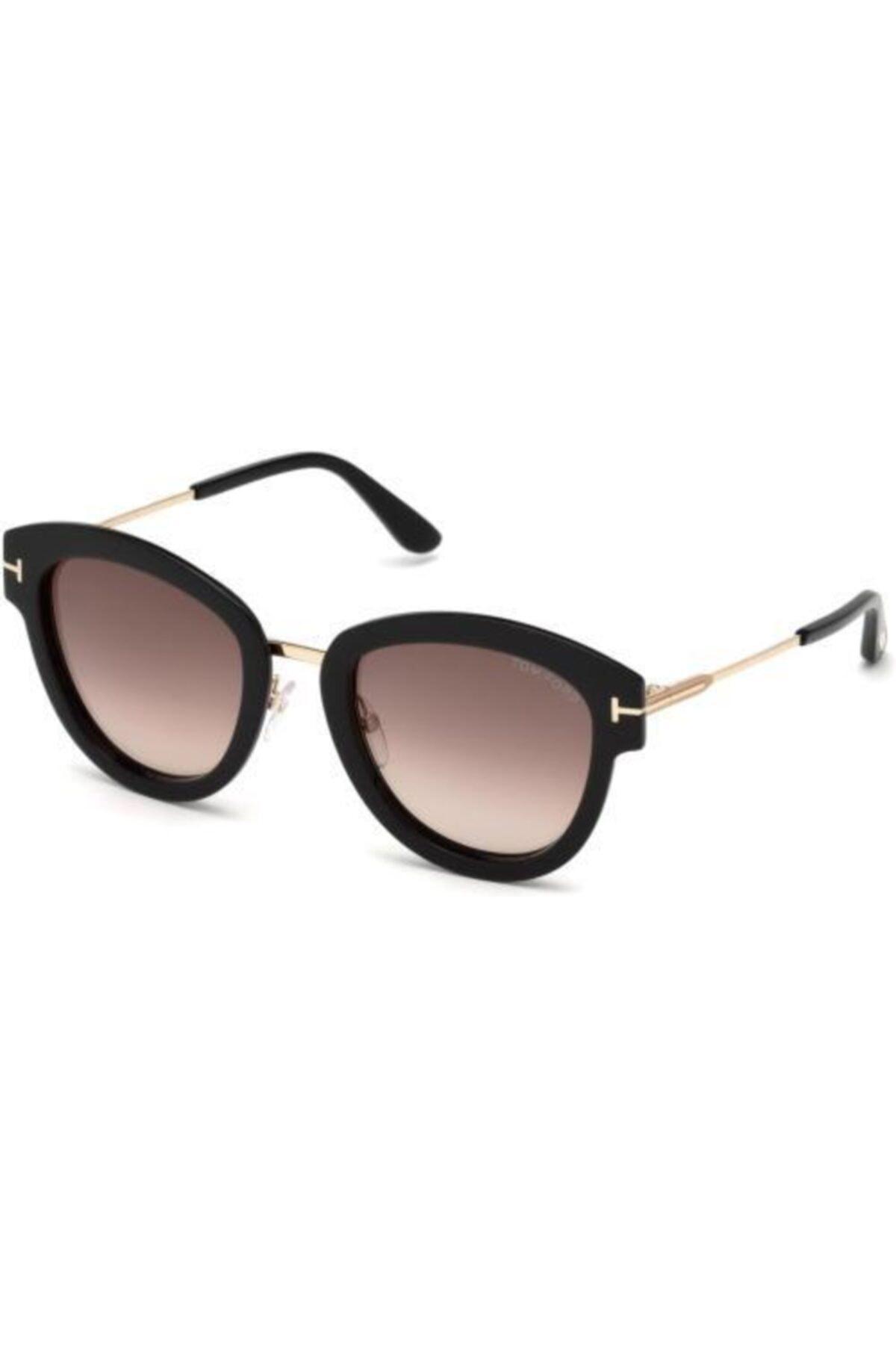 خرید پستی عینک آفتابی شیک زنانه برند Tom Ford رنگ قهوه ای کد ty54735359