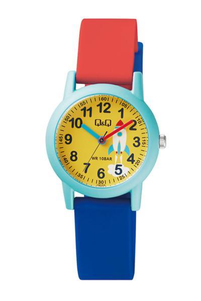 فروش ساعت بچه گانه فانتزی برند Q&Q رنگ زرد ty55711510