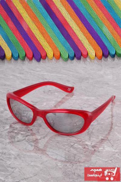 خرید نقدی عینک آفتابی دخترانه 2021 برند پولو 55 رنگ قرمز ty57599748