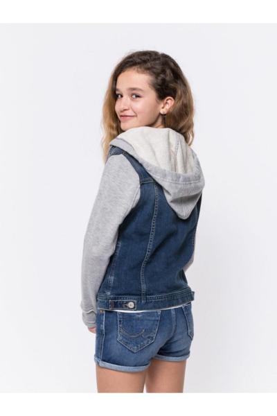 خرید پستی ژاکت دخترانه برند ترک Ltb رنگ نقره ای کد ty5946115