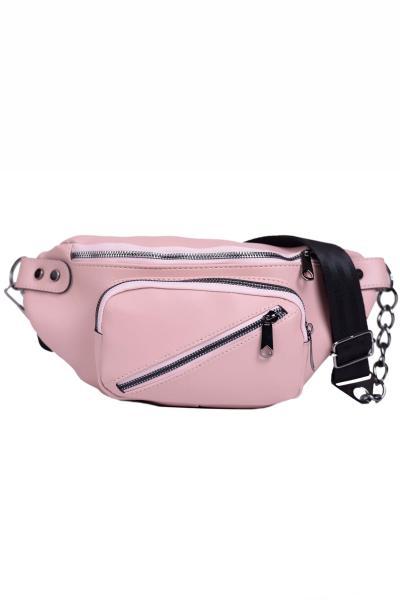 فروشگاه کیف کمری زنانه سال 1400 برند Housebags رنگ صورتی ty6044923