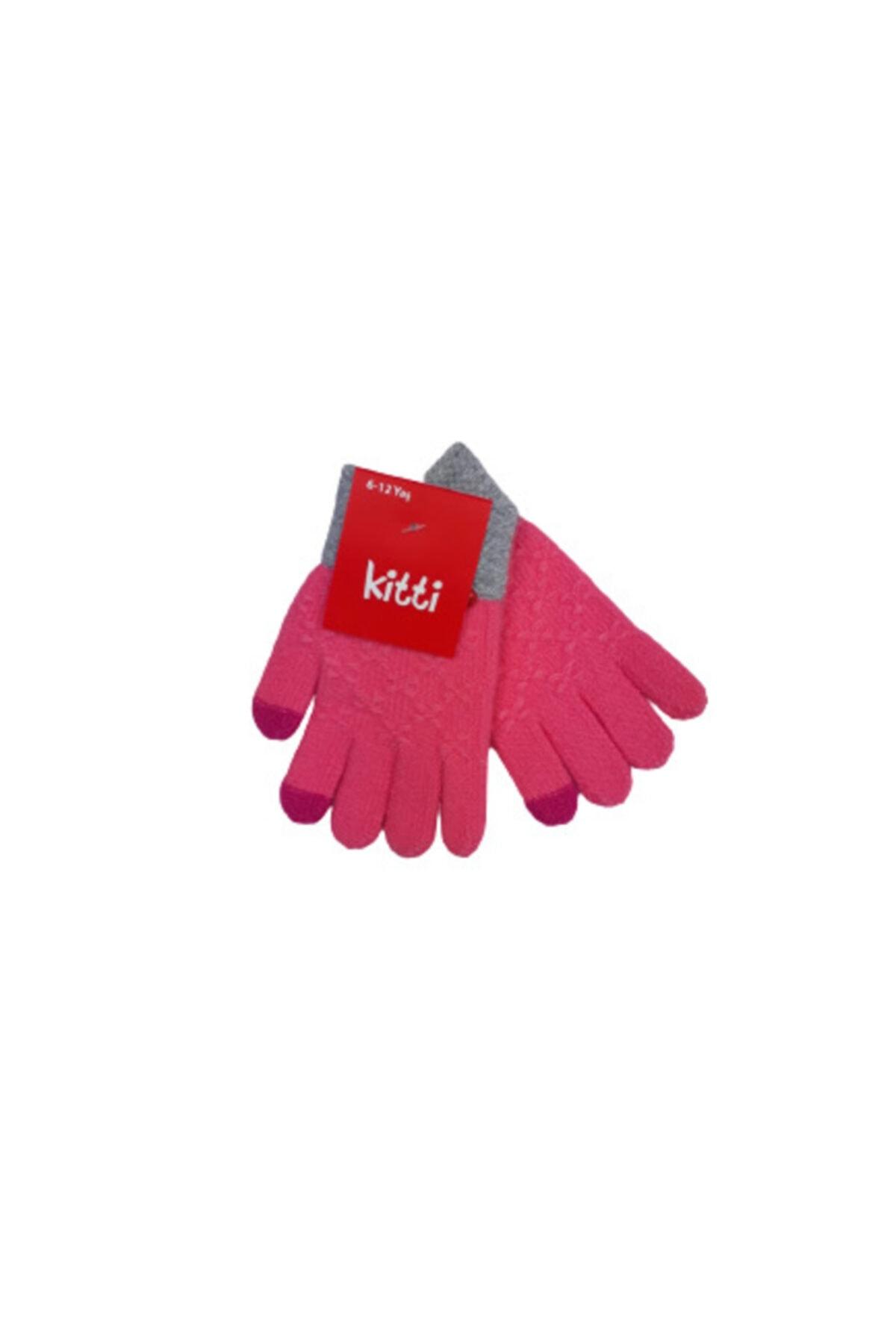 فروش  دستکش بچه گانه دخترانه ترک برند Kitti رنگ صورتی ty66581608