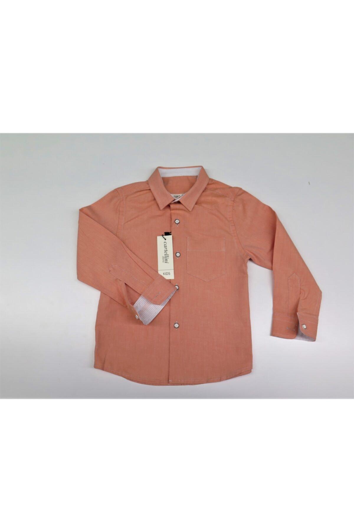 پیراهن بچه گانه 2021 برند Cartellini رنگ نارنجی کد ty70117521