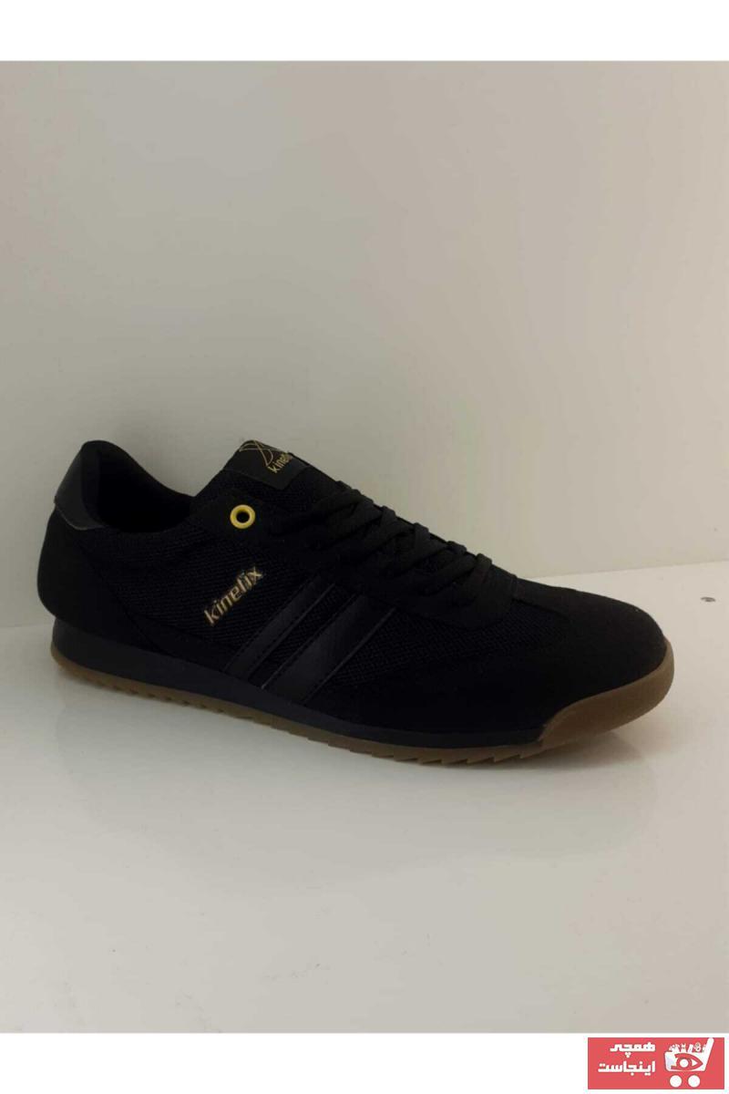 خرید انلاین کفش کوهنوردی مردانه خاص برند کینتیکس kinetix رنگ مشکی کد ty73119838