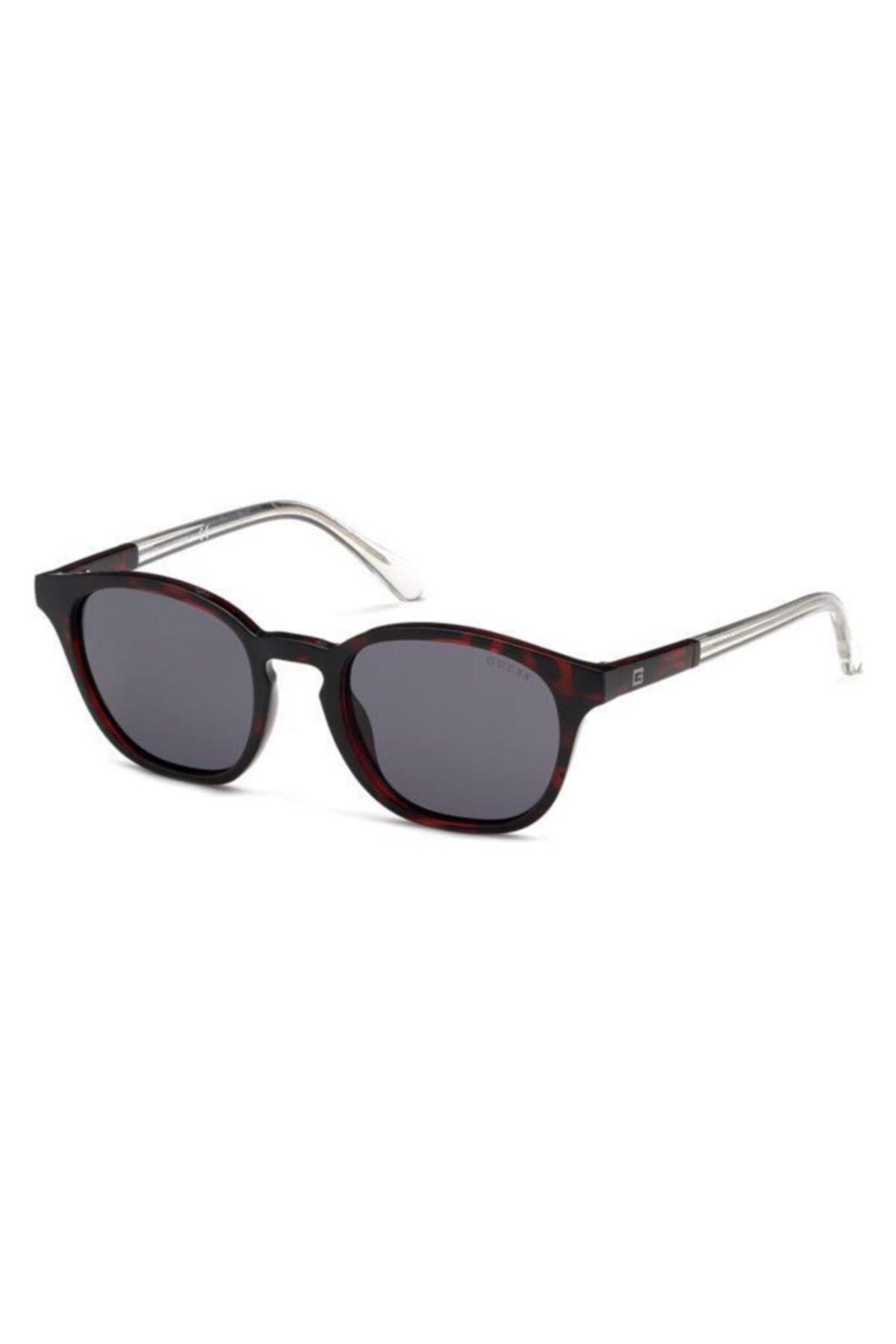 فروش عینک دودی اسپرت  برند Guess رنگ زرشکی ty73245230