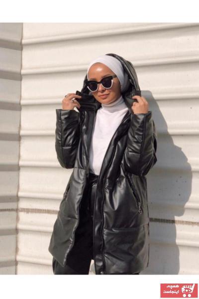 مدل کاپشن زنانه برند mg boutique رنگ مشکی کد ty74897685