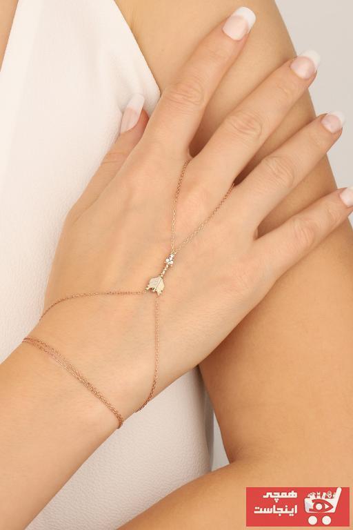 خرید نقدی دستبند انگشتی زنانه برند Mistik Silver رنگ صورتی ty75478060