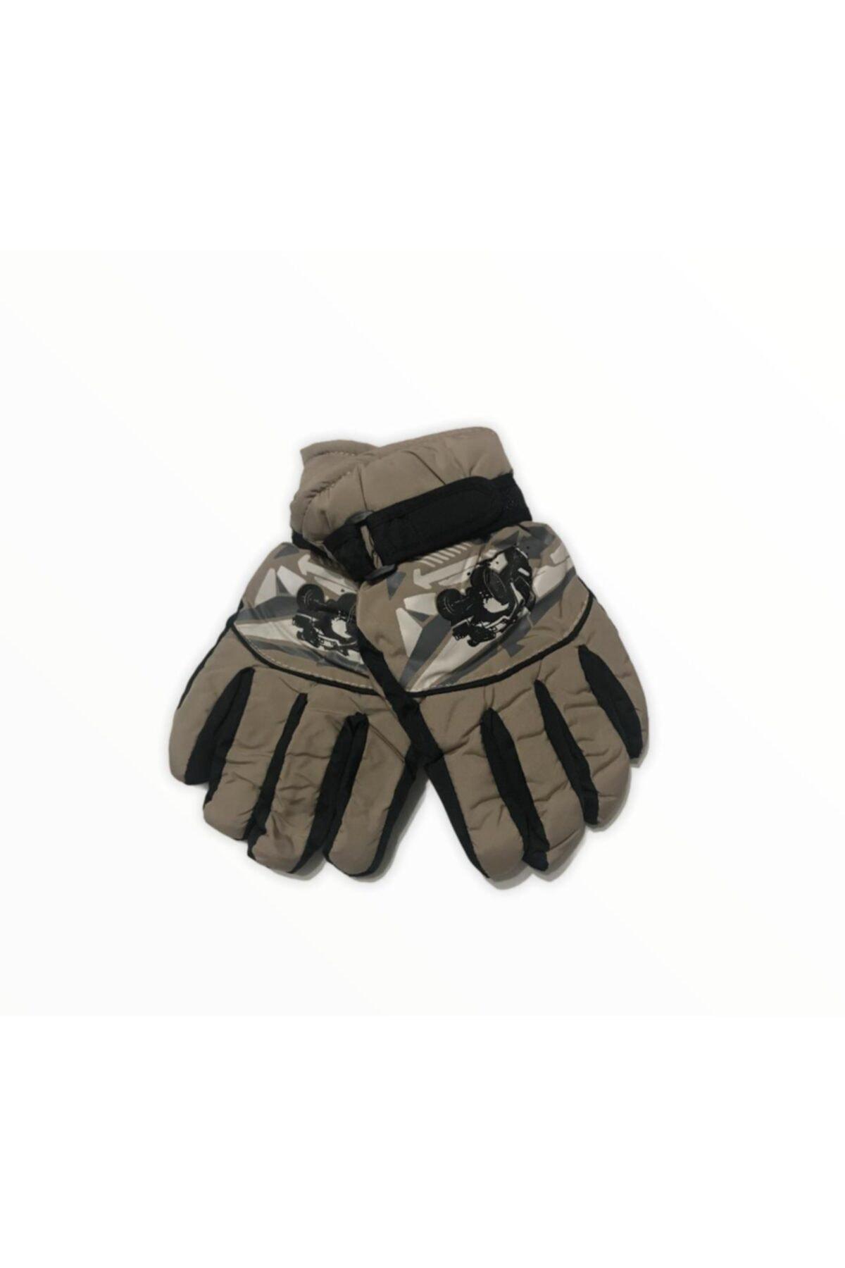 خرید دستکش 2021 بچه گانه پسرانه برند Granz رنگ قهوه ای کد ty77853496