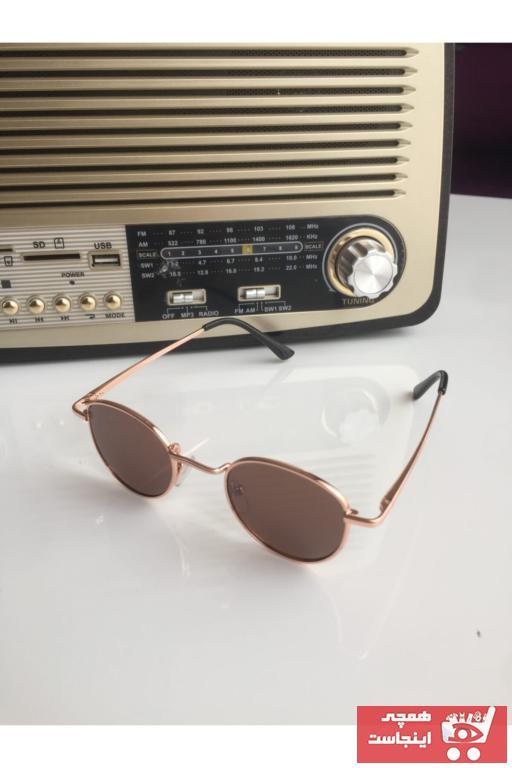عینک آفتابی طرح دار برند EMWİNSUNGLASSES رنگ قهوه ای کد ty78773609