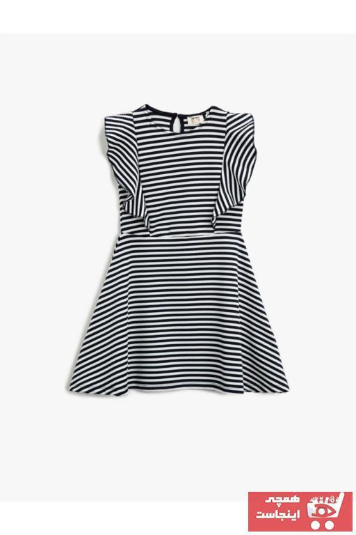 خرید مدل پیراهن دخترانه برند کوتون رنگ آبی کد ty79553436