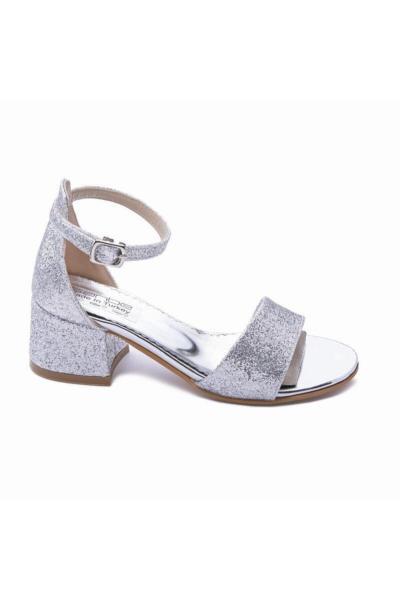 کفش پاشنه بلند 2021 مدل جدید برند Sanbe رنگ نقره کد ty79843185