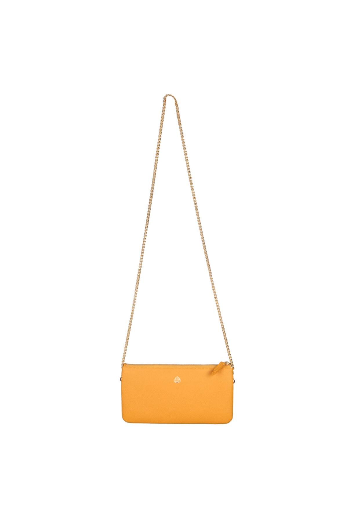 خرید انلاین کیف مجلسی طرح دار برند Ipex Leather رنگ زرد ty81184806
