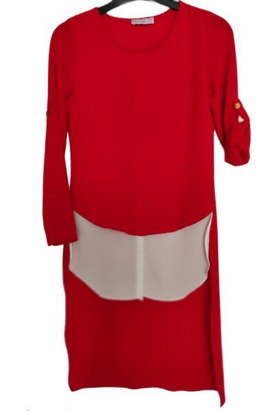 تونیک دخترانه ارزان برند Spice Kids رنگ قرمز ty81245378
