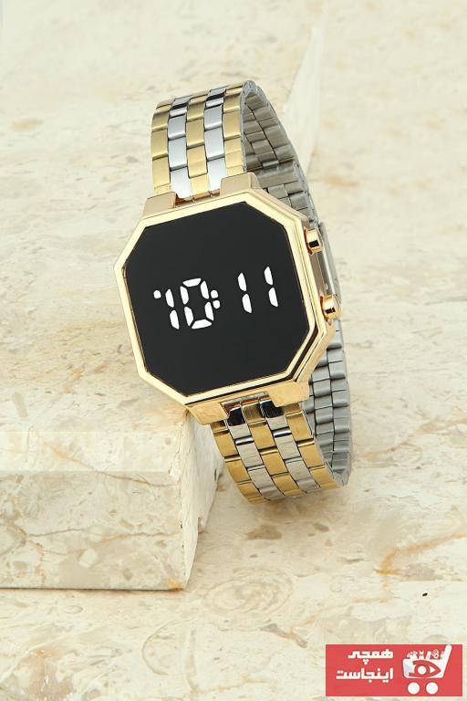 خرید پستی ساعت زنانه اورجینال برند Exception رنگ طلایی ty81694764