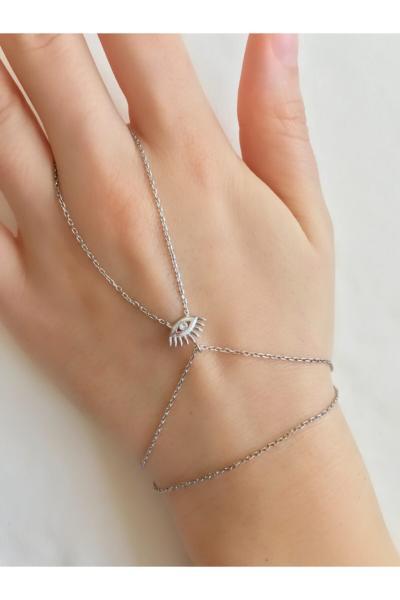 خرید نقدی دستبند انگشتی زنانه فروشگاه اینترنتی برند GUSAGO رنگ نقره کد ty82705383