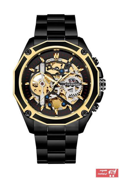 درخواست ساعت مچی مردانه  برند Forsining رنگ مشکی کد ty89176925