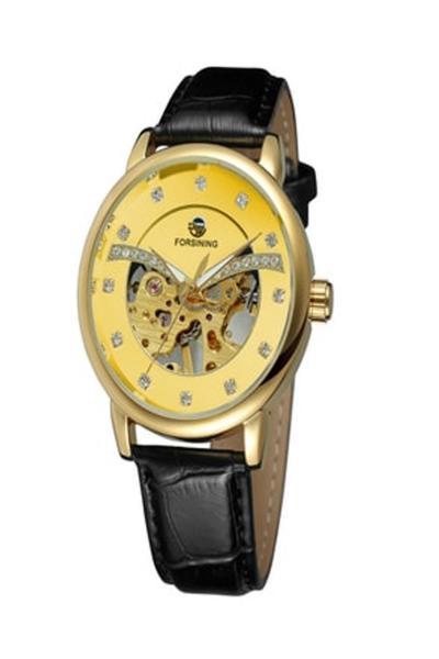 خرید ساعت مچی مردانه  ارزان برند Forsining رنگ مشکی کد ty89427635