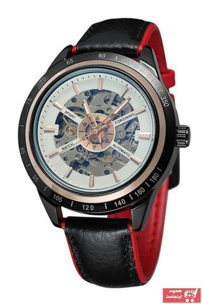 خرید انلاین ساعت مردانه  برند Forsining رنگ مشکی کد ty89433488