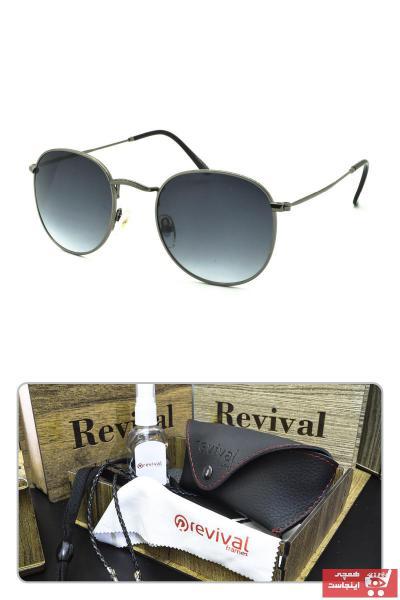 فروش عینک آفتابی زنانه خفن برند Revival رنگ نقره ای کد ty89878977
