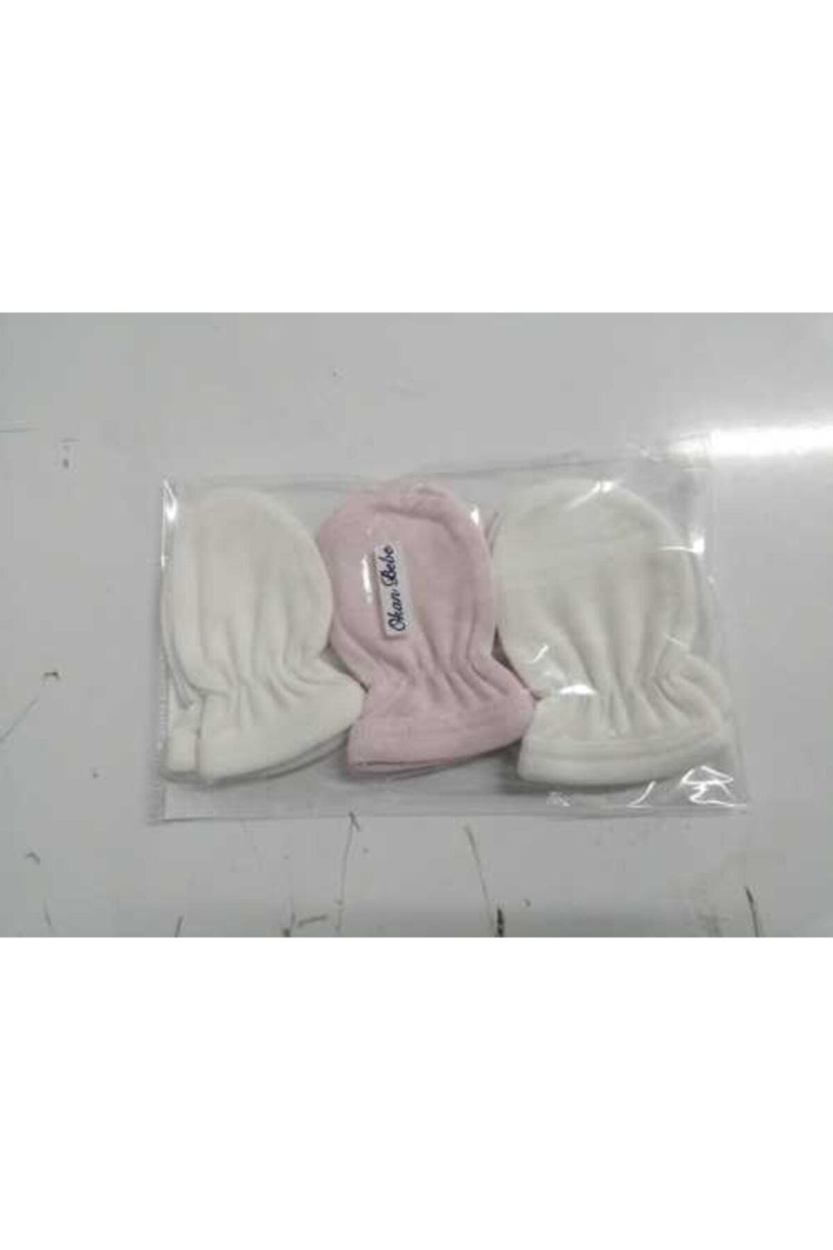 دستکش نوزاد پارچه ارزانی برند OKAN BEBE کد ty90029402