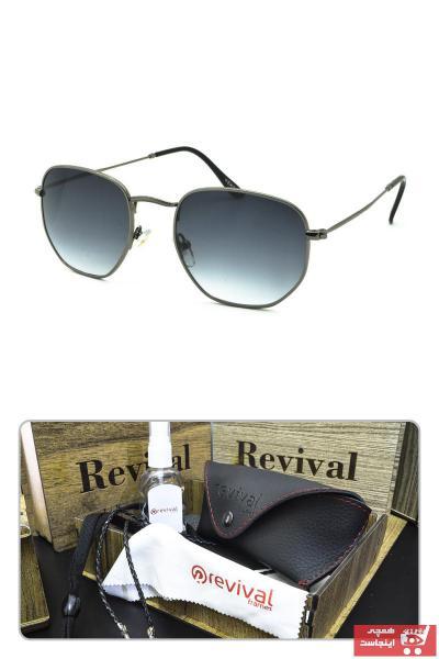 فروشگاه عینک آفتابی زنانه تابستانی برند Revival رنگ مشکی کد ty90132144