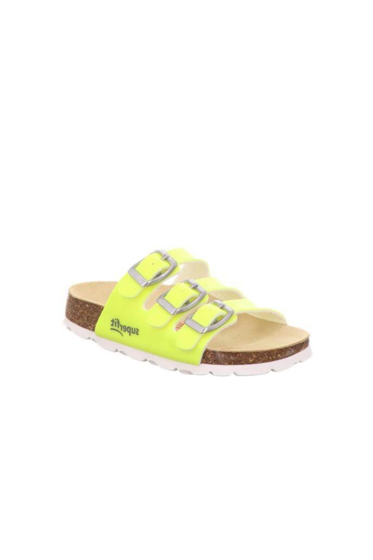دمپایی شیک بچه گانه پسرانه برند Superfit رنگ زرد ty90405059