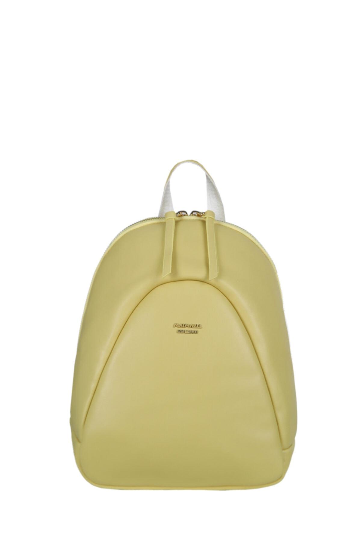 خرید انلاین کوله پشتی زنانه خاص برند Matmazel رنگ زرد ty90827007