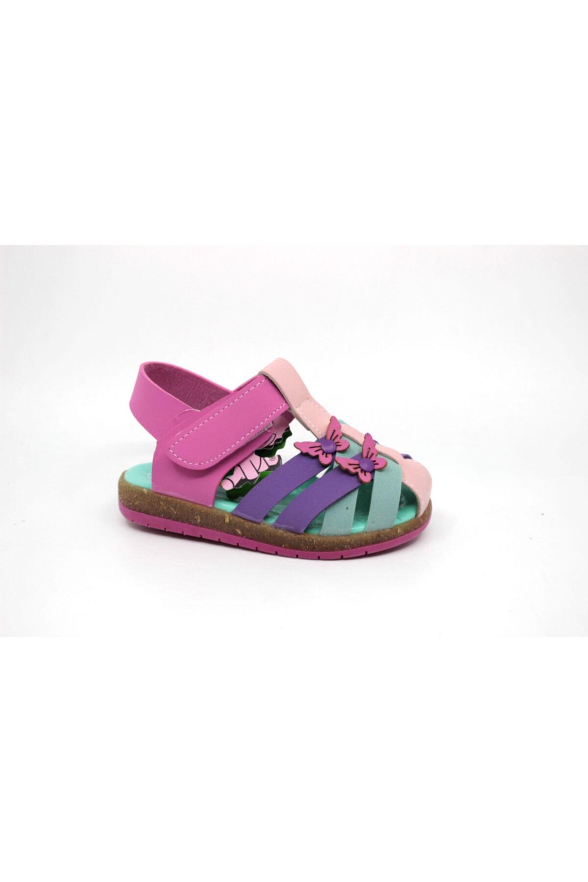 خرید کفش تخت نوزاد دختر ترک جدید برند Şirin Bebe رنگ صورتی ty91325863