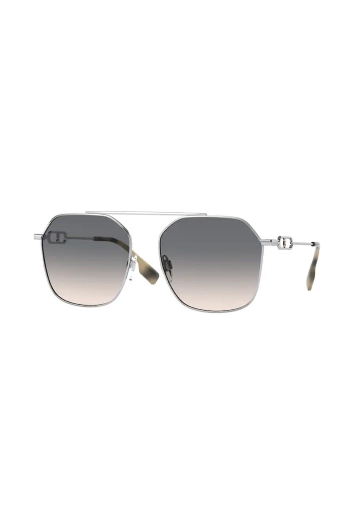 خرید عینک آفتابی زنانه شیک برند BURBERRY رنگ نقره ای کد ty92557776