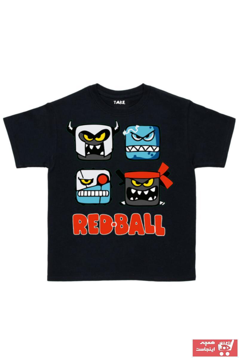 تیشرت اورجینال برند TakeTshirt رنگ مشکی کد ty93711500
