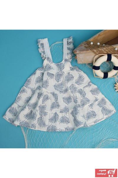 لباس مجلسی نوزاد دخترانه ارزان برند HelloBaby رنگ بژ کد ty94108951