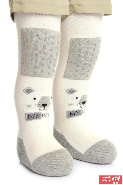 خرید انلاین جوراب بچه گانه پسرانه فانتزی برند HelloBaby رنگ نقره ای کد ty94181412