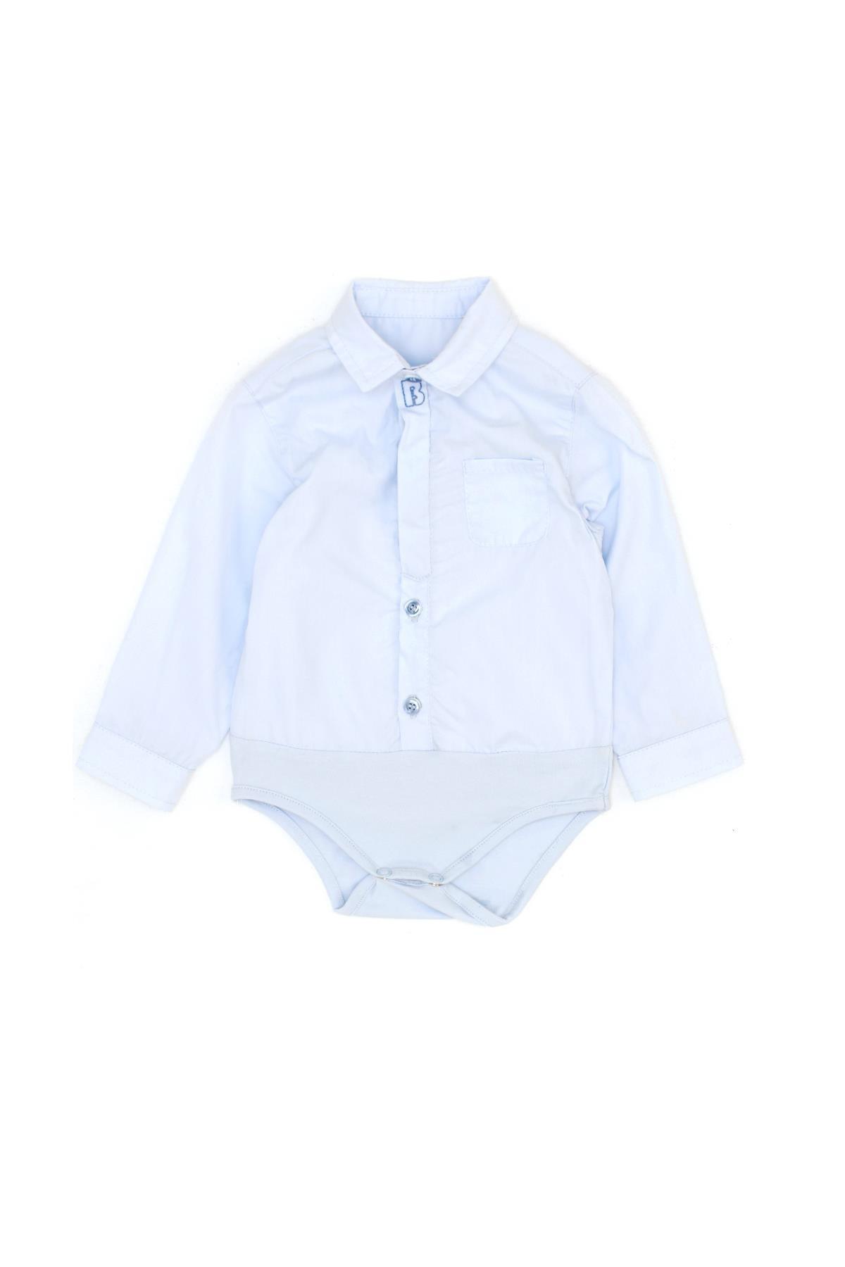 پیراهن بچه گانه مارک دار برند BG Baby رنگ آبی کد ty94793018