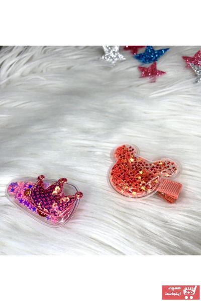 خرید ارزان زیورآلات مو بچه گانه دخترانه فانتزی برند Tinystar رنگ صورتی ty94853914