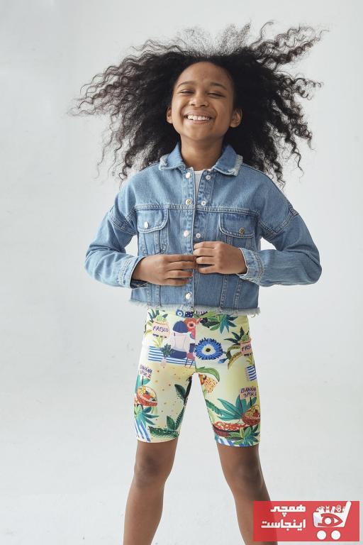 فروش پستی ژاکت بچه گانه شیک جدید برند Tyess رنگ آبی کد ty94956965