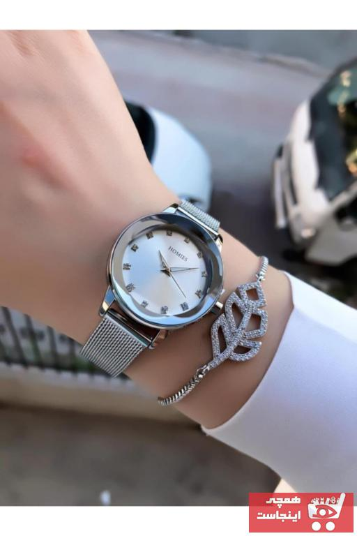 خرید ساعت زنانه برند Homies رنگ نقره کد ty95363189