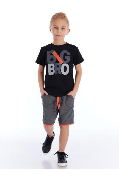 شلوارک پسرانه مدل برند Mushi رنگ مشکی کد ty95675622