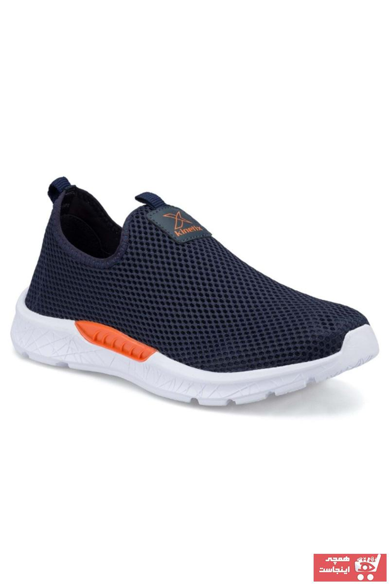 خرید اینترنتی کفش کوهنوردی خاص مردانه برند کینتیکس kinetix رنگ لاجوردی کد ty96058881