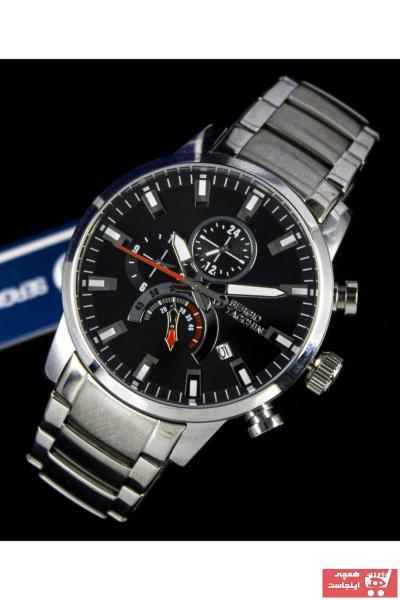 خرید پستی ساعت شیک مردانهاصل برند Sergio Tacchini رنگ مشکی کد ty97351635
