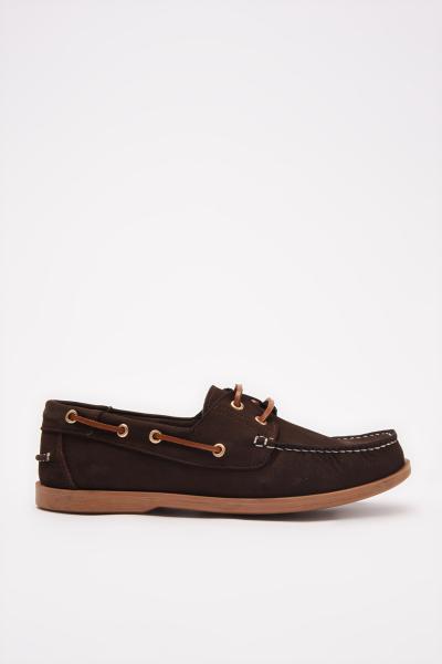 فروشگاه کفش کلاسیک مردانه تابستانی برند هاتیچ اورجینال رنگ قهوه ای کد ty97486786