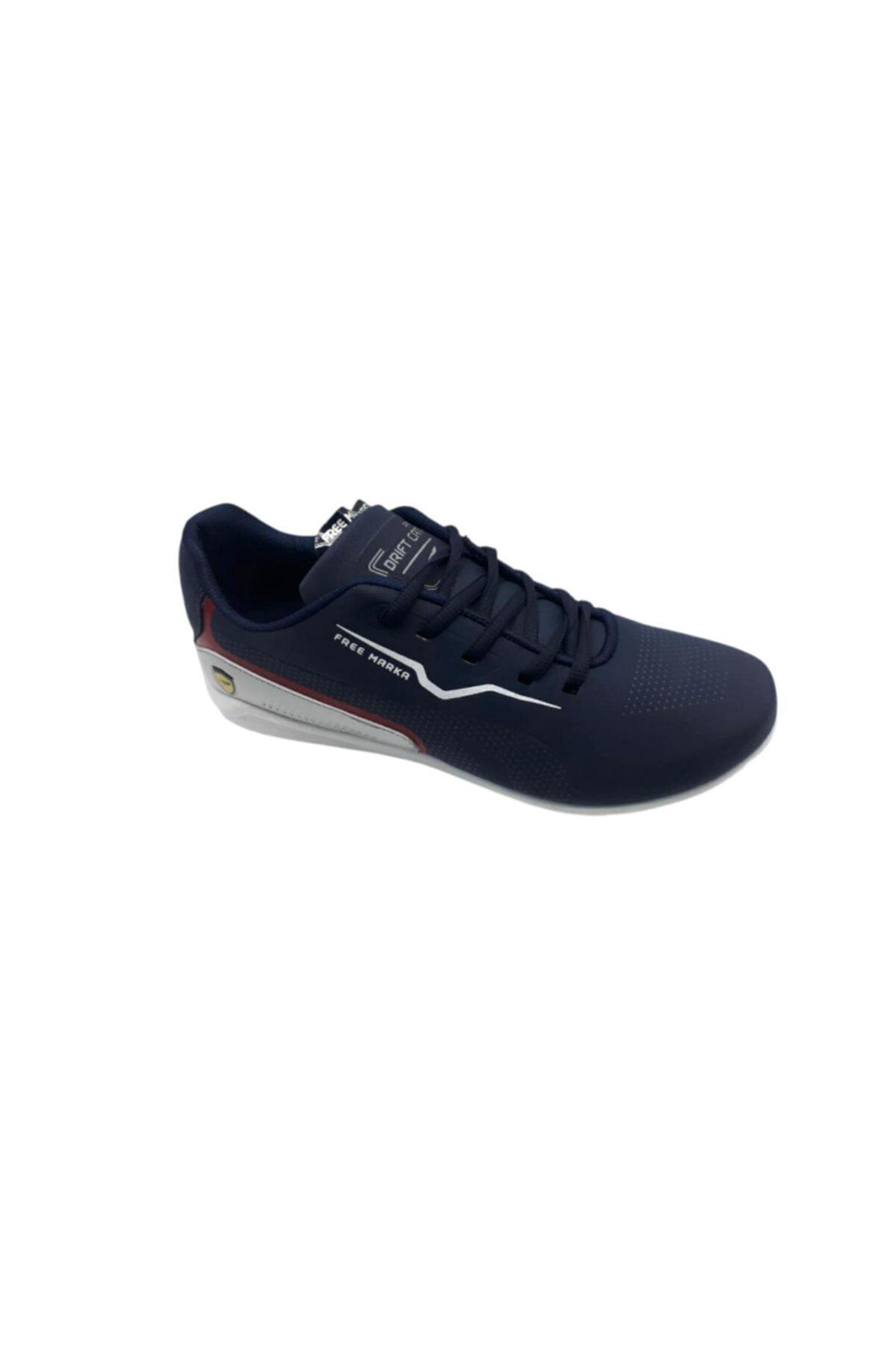 خرید کفش والیبال مردانه شیک مجلسی برند FREE MARKA رنگ لاجوردی کد ty97807567